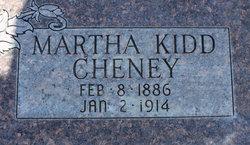 Martha <i>Kidd</i> Cheney