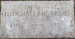 Ellen Jane <i>Craig</i> Brooks