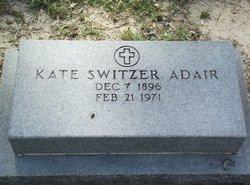 Kate <i>Switzer</i> Adair