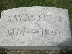 Sayde Pitts