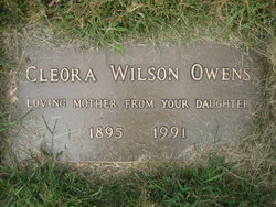 Cleora <i>Wilson</i> Owens