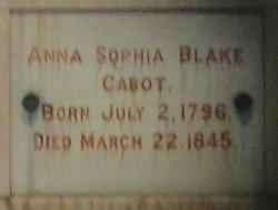 Anna Sophia Cabot