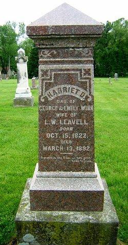 Harriet Daniel <i>Winn</i> Leavell