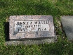 Jennie A. <i>Gast</i> Miller