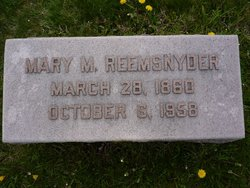 Mary M. <i>Winters</i> Reemsnyder