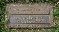 Ruth Carrie Louise <i>Albrecht</i> Richerson