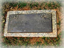 Bertha <i>Jones</i> Dallas
