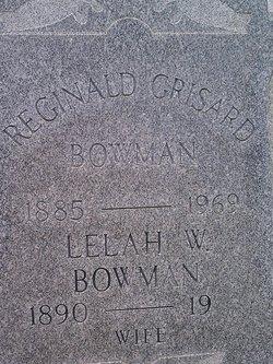 Reginald Grisard Bowman