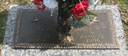 Lewis Franklin Frankie Lamaine