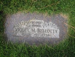Violet M Bellotty