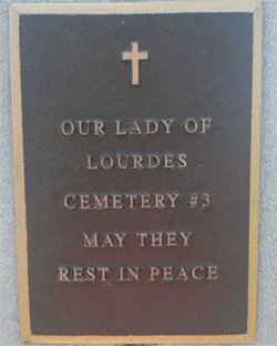 Our Lady of Lourdes Catholic Cemetery #3