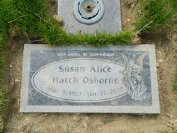 Susan Alice <i>Hatch</i> Osborne