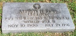 Alfred H. Rice