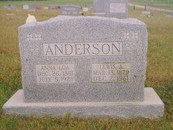 Anna Loa <i>Hunsaker</i> Anderson