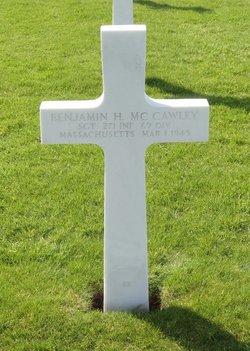 Sgt Benjamin H Mccawley