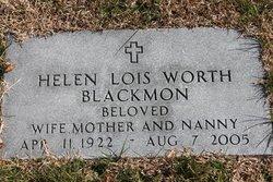 Helen <i>Worth</i> Blackmon