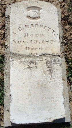 Luther Commodore Barrett