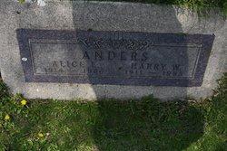 Alice Louise <i>Prickett</i> Anders