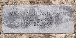Mrs Bennie <i>Tolbert</i> Anderson