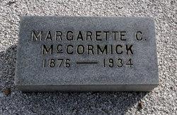 Margarette <i>Cooke</i> McCormick