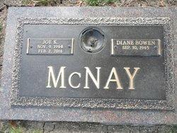 Joe K McNay