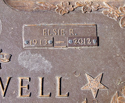 Elsie R. <i>Clifton</i> Blackwell