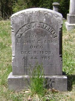 Carrie Maria <i>Sherman</i> Arms