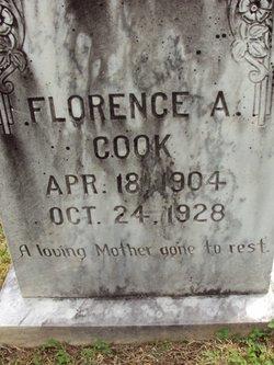 Florence A <i>Bumgardner</i> Cook