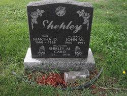 Shirley M <i>Shepley</i> Card