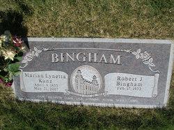Marian Lynetta <i>Kunz</i> Bingham
