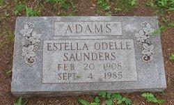 Estella Odelle <i>Saunders</i> Adams
