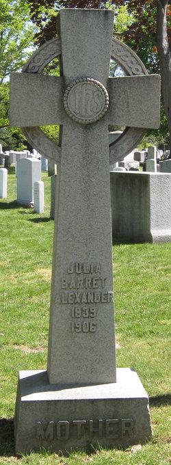 Julia Barret Alexander