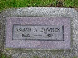 Abijah Allyn Bije Downen