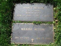 Leona Maxine <i>Whitelaw</i> Acton