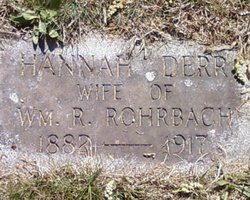 Hannah <i>Derr</i> Rohrbach