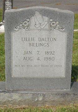 Lillie <i>Dalton</i> Billings