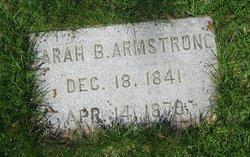 Sarah B. Armstrong