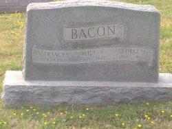 Alice B <i>Miller</i> Bacon