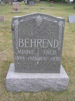 Frederick Fred Behrend