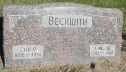 Etta Pearl <i>Curl</i> Beckwith