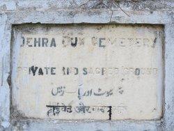 Dehra Dun Cemetery