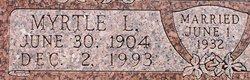 Myrtle Lee <i>Dodson</i> Baker