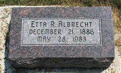 Etta Ray <i>Parker</i> Albrecht