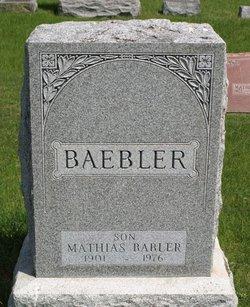Mathias 'Matt' Babler