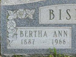 Bertha Ann <i>Snyder</i> Bishop