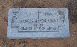 Frances Maxon <i>Rix</i> Adams