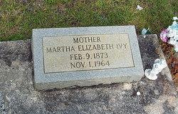 Martha Elizabeth <i>Harger</i> Ivy