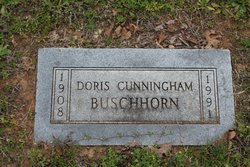 Doris <i>Cunningham</i> Buschhorn