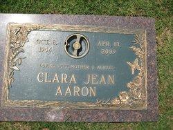 Clara Jean Jeanie <i>Jimenez</i> Aaron