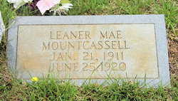 Leaner Mae Mount Cassell